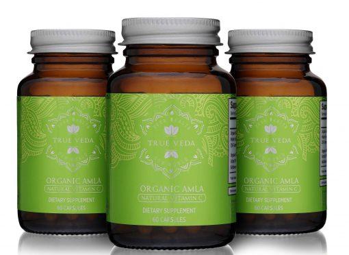 Organic Amla Capsules 3 Bottles