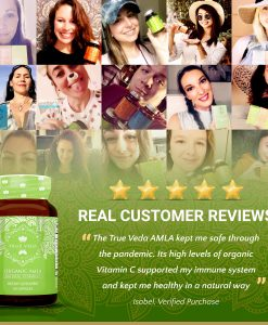 True Veda Organic Amla Testimonials