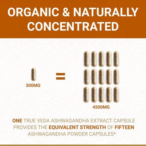 True Veda Organic Ashwagandha Strength