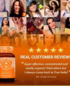 True Veda Organic Ashwagandha Testimonials