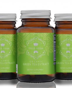 organic green tea extract 3 bottles