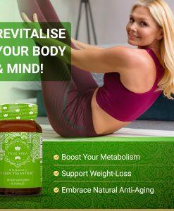 True Veda Organic Green Tea Extract Features