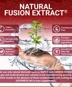 True Veda Organic Pomegranate Extract Natural Fusion Extract