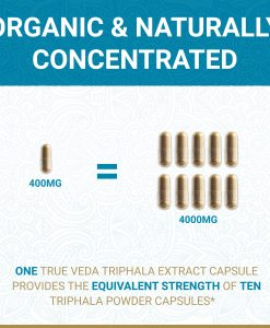 True Veda Organic Triphala Strength