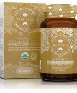 True Veda Organic Turmeric Gold