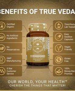 True Veda Organic Turmeric Gold Benefits