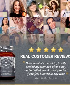 True Veda Activated Charcoal Testimonials